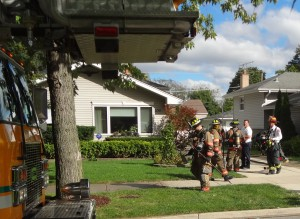 Dog rescued from Elmhurst house fire