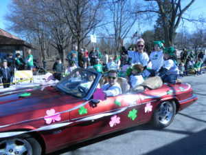 The Who's Who in the St. Pat's parade