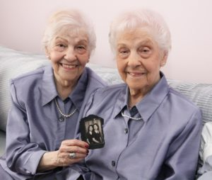 Nearing 100, twin sisters offer tips to stay healthy