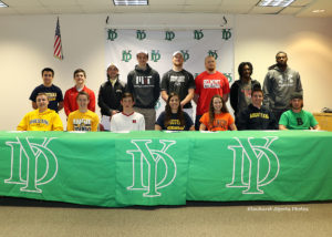 York athletes sign letters of intent