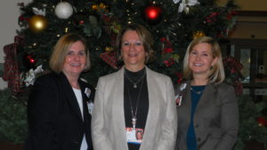 Hospital's administration trio looks forward to future growth