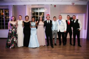 Montini Catholic crown Prom King and Queen
