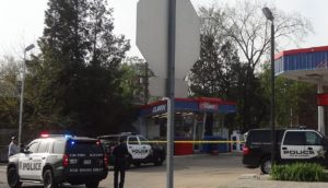 Update on the Clark gas station armed robbery