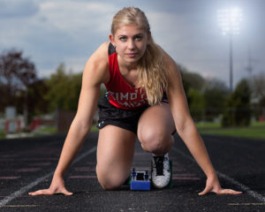 Hoekstra named Timothy Christian outstanding senior female athlete