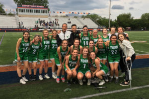 York girls lacrosse team reaches final eight for third year in a row