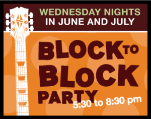 Block to Block Party – last call