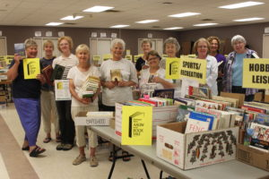 AAUW Used Book Sale opens Thursday