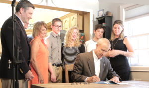 Grass-roots efforts rewarded with passage of bill, governor's signature