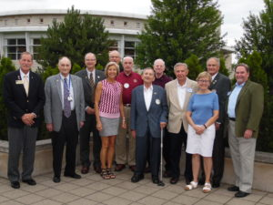 Rotary Club salutes past presidents
