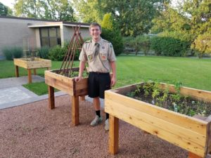 Local Eagle Scout helps Ray Graham Association