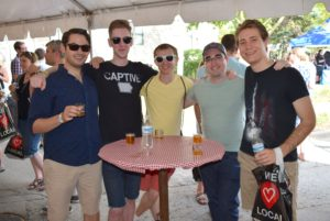 Friends gather at Heritage Foundation's Craft Beer Fest