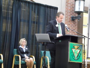 Moyer gives State of the Schools address