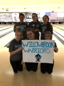 Willowbrook girls bowling team fourth at Plainfield Central