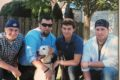"Four, well, five reasons to support organ donation ""Pictured are the four reasons I became a live organ donor,"" said State Representative Deb Conroy. They are, of course, her children (from left): Will, 21, Sean, 32, Brendan, 23, and Ryan, 28 – along with Shannon their dog. Conroy recently donated one of her kidneys to Tim, her ex-husband and the father of her four boys. ""When something like this happens, we are all still family,"" she added."