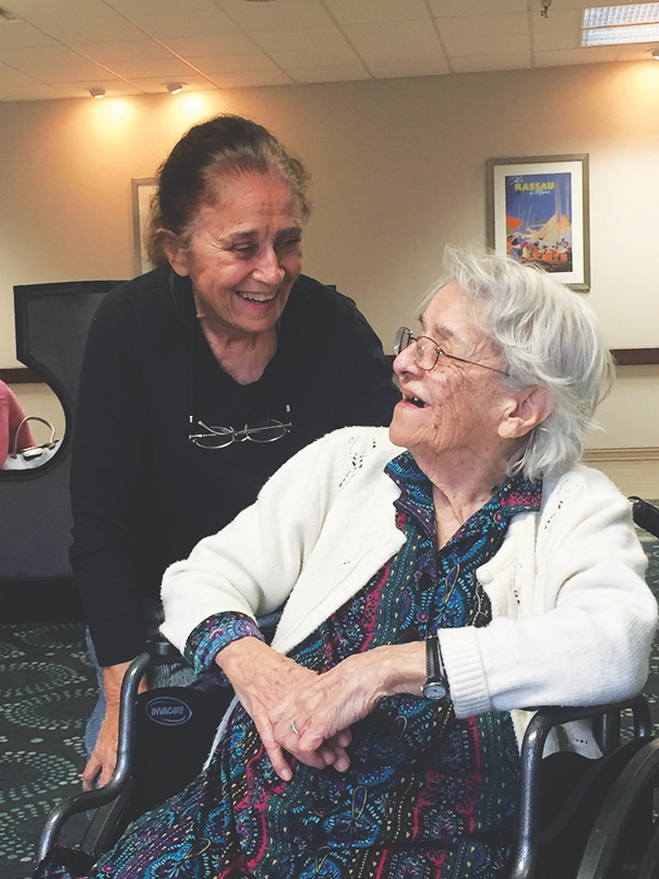 Former long-time resident turns 104