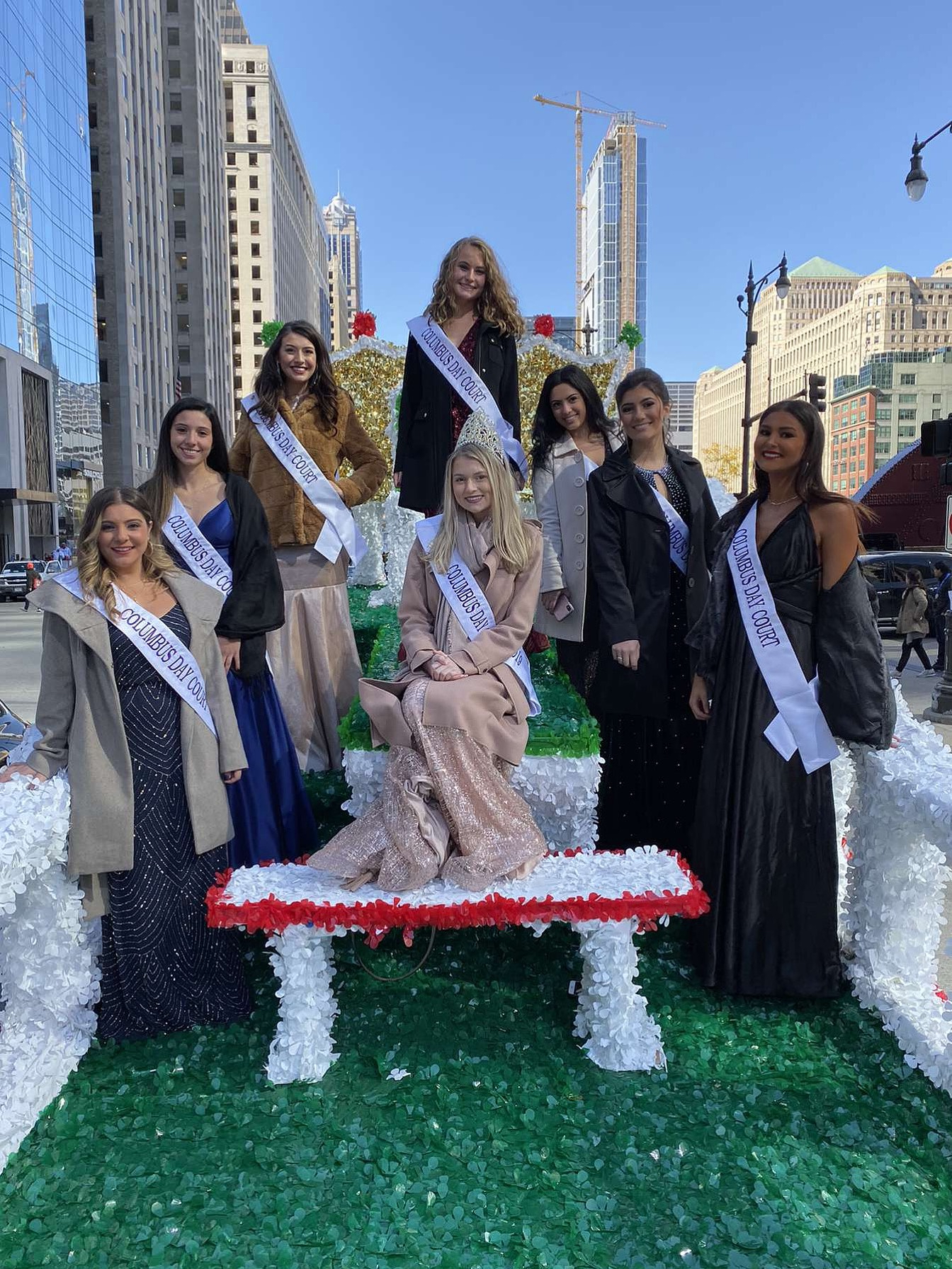 Queen of the Court; Elmhurst's Natalie DiCianni named Chicago's Columbus Day Queen