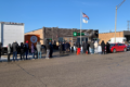 The doors at EARTHMED, 852 South Westgate in Addison, opened at 10 a.m. on January 1 to sell recreational marijuana. The line stretched at least 1/2 mile south and west of the facility.