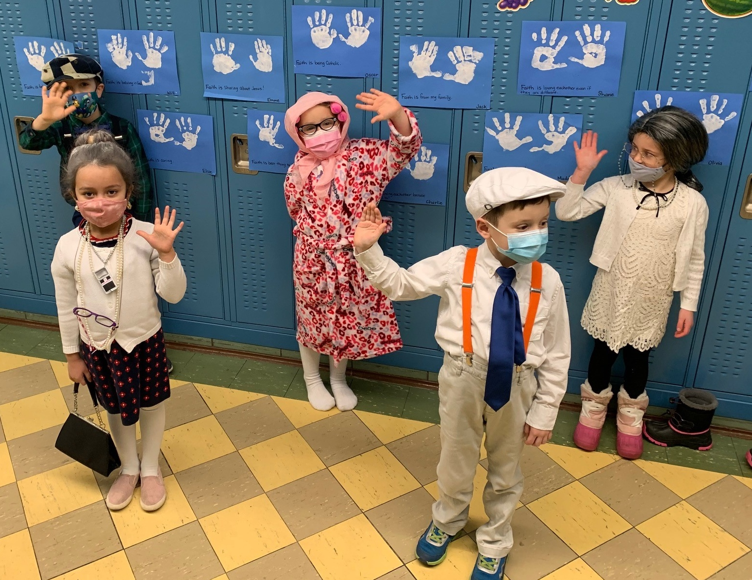 K's celebrate 100th Day at ICGS